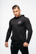 Stony Sportwear, Deadlift, Langærmet T-Shirt Sort 4