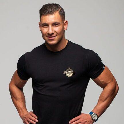 Stony Sportswear, Deadlift, T-Shirts Logo Sort