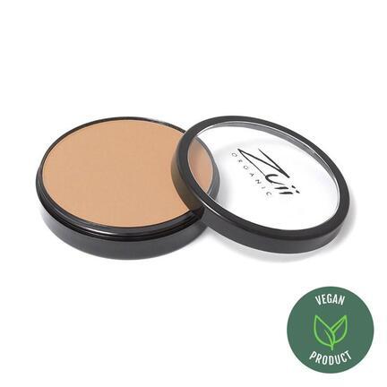 Certified Organic Flora Powder Foundation med UVA og UVB beskyttelse 10 gr Macadamia