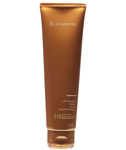 Académíe Body Sunscreen Milk - spf 15 150 ml