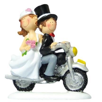 Bryllup på motorcykel