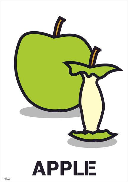Apple design illustration poster plakat ©Birger