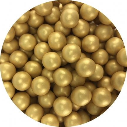 Chocolate guld pearls 130g