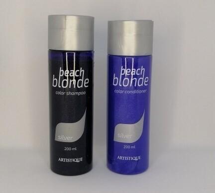 Artistique Beach blonde shampoo conditioner silver