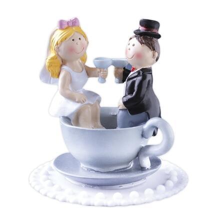 Brudepar i kop