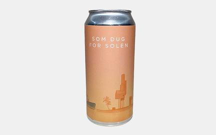 Som dug for Solen øl fra Ølsnedkeren · Beer Me