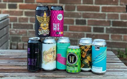 Humlebidder · 8 forskellige humlede øl · IPA, APA, Session IPA og lignende